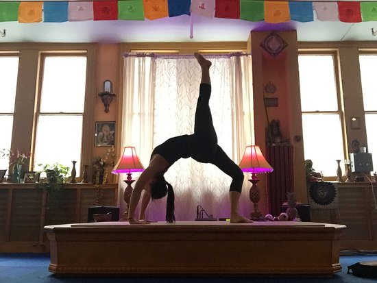 Practicing At Dharma Yoga Center In New York Picture Of Dharma Yoga Center New York City Tripadvisor