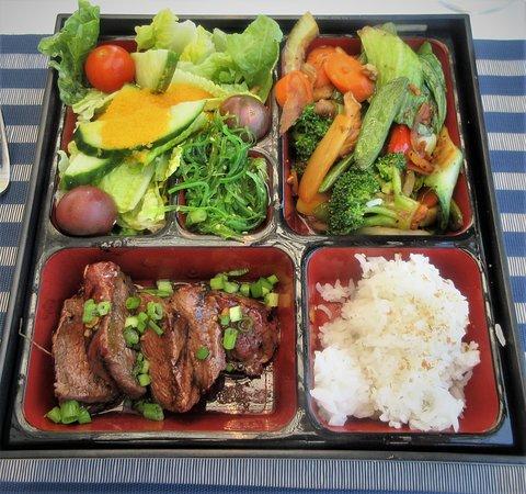 Bento Box with Korean Beef