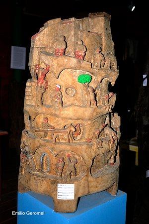 Museo de Madera - Escultor Jose Castro: Inframundo 2