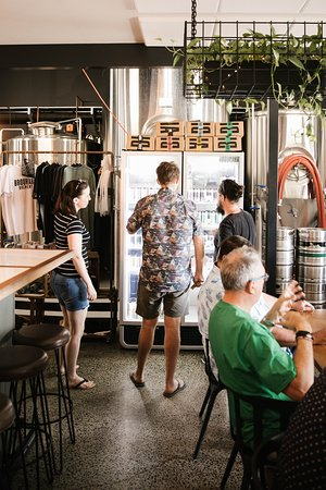 Brouhaha Brewery Cellar Door available for take-aways of our eight core range beer and limited release seasonal range.