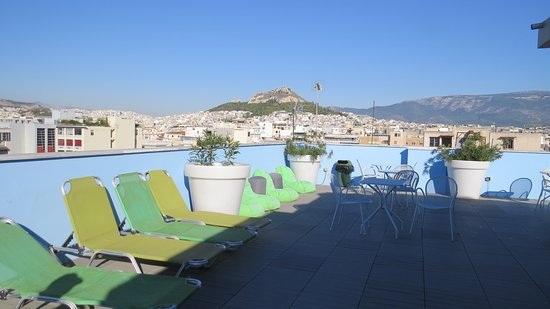 Athens Center Square: Rooftop bar