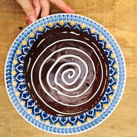 Deliciosas tortas recién horneadas
