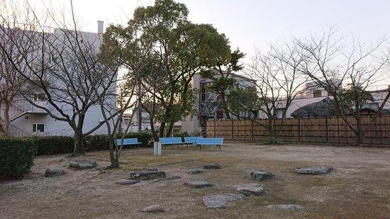 三原港近くに残る三原城の舟入櫓跡