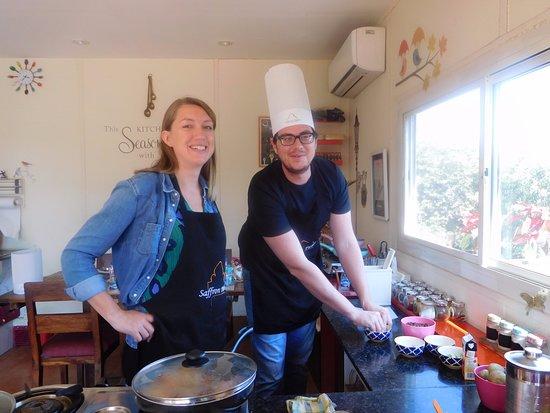 Saffron Palate: As we cook!