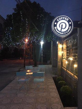P Coffee in Night