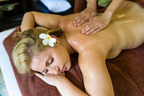 Coconut oils massage