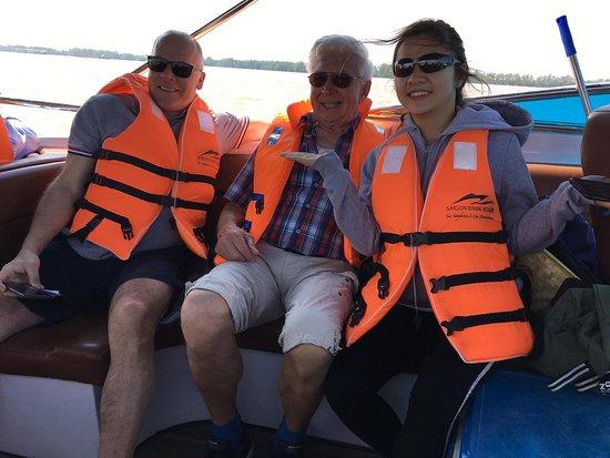 Autentisk Mekong Delta till Ben Tre av Luxury Speedboat: Nice picture