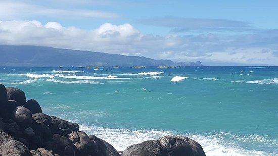Spreckelsville, Hawái: View towards baby beach