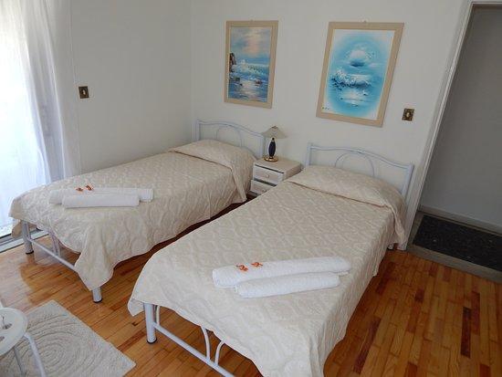 Makrygialos, اليونان: Bedroom