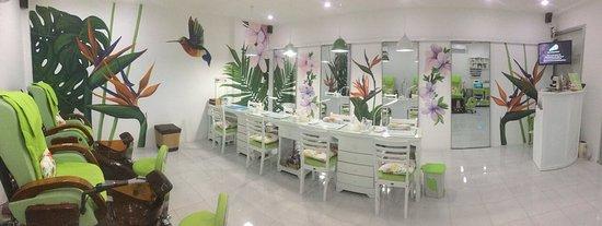 Ham Tien, Вьетнам: Nail Bar - Beauty Salon