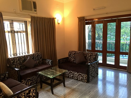 Bidhannagar, Índia: Lounge Area : 2nd Floor adjacent to balcony