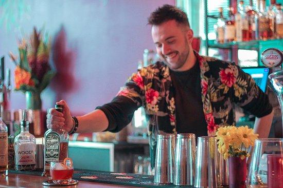 Our wonderful bartender