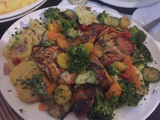 Quintal do Queiros: Legumes em fartura