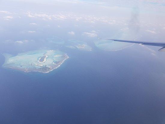 Emirates: Arrivo a Malè (Boeing 777)