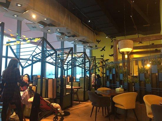 Buffet cafe