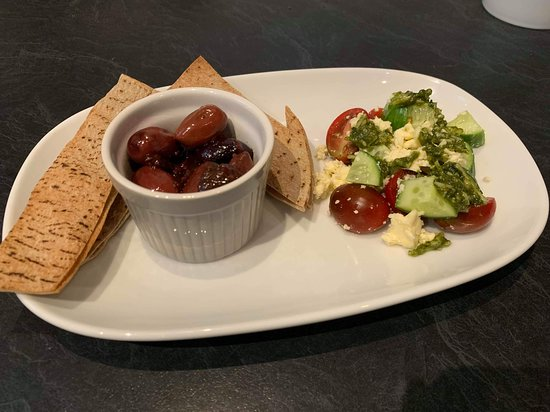 Mosaique: Baked Chilli Balsamic Olives