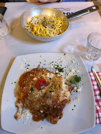 Lasagne, frische Pasta