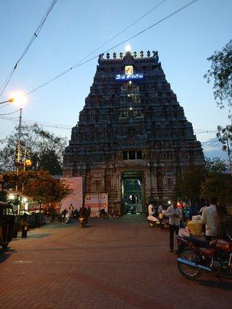 Karuvurar, Jeeva Samadhi or Adhistanam - Picture of Pasupathieswarer