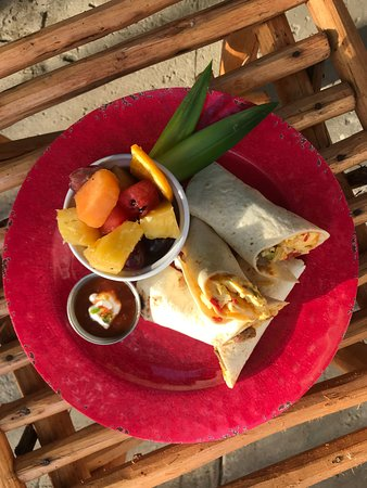 Island Kitchen: Start your morning with a Breakfast Burrito.
