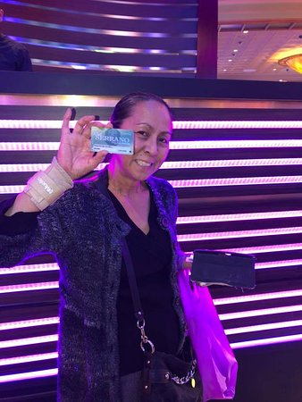 Lucky Club Serrano Member Angerose won $1,000 Xtra Credit during San Manuel Casino's Xtra Credit Tuesday Drawings on 2/26/19.