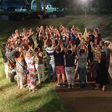 Silent Disco Tour durch Scarborough Beach und Esplanade: Auld Lang Syne finale with a good crowd in Subiaco Perth WA!