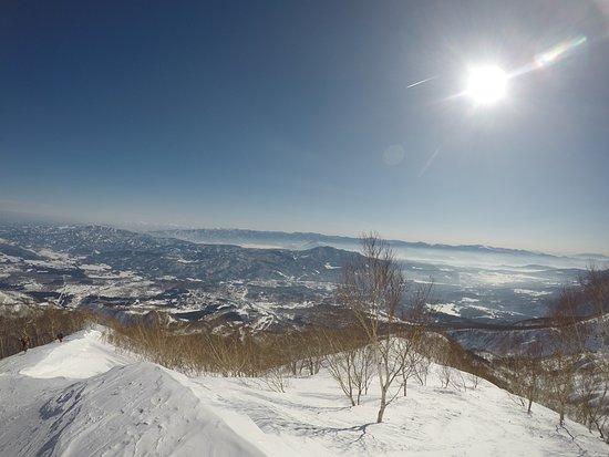 hike up the Mount Maeyama