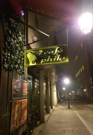 Stare Miasto: Cafe Philo in the Old Town