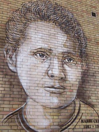 Fresque Marie Curie