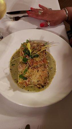 a beautiful romantic meal