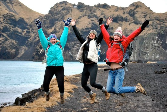 Educational tour around Iceland, learn about nature and culture with local guide: Traveling around the Westman Islands!