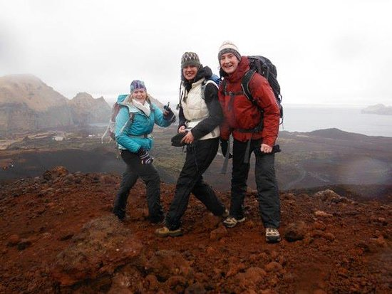 Educational tour around Iceland, learn about nature and culture with local guide: Hiking on the Westman Islands!