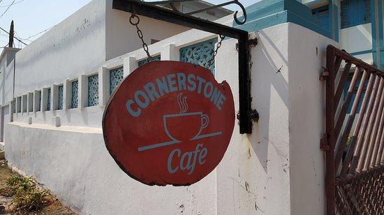 Cornerstone Cafe: Name board