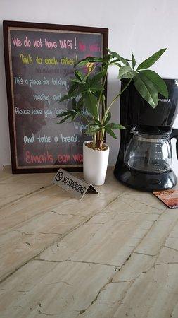 Cornerstone Cafe: The Coffee Machine