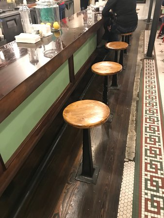 Fabulous Counter Seats Picture Of Farm Luck Soda Fountain Dry Alphanode Cool Chair Designs And Ideas Alphanodeonline