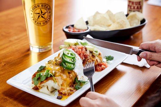 Knife & Fork burrito