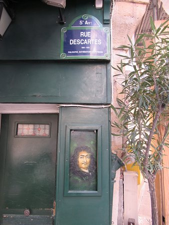 Fresque Rene Descartes