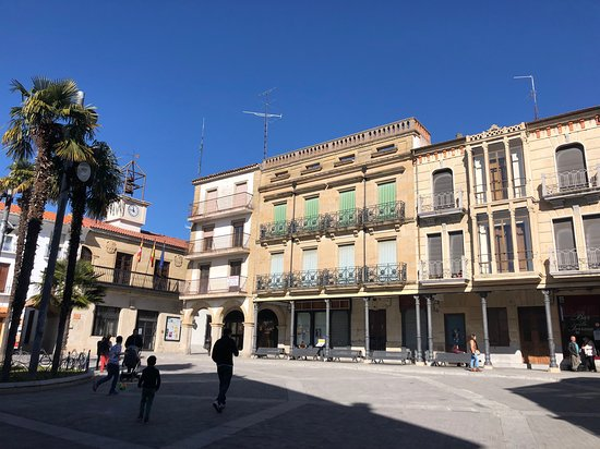 Alba de Tormes, Spain: Plaza