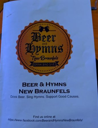 Beer and Hymns!