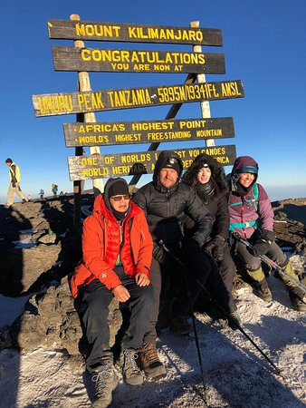 Our group made it to Uhuru Peak on 2/10/19!