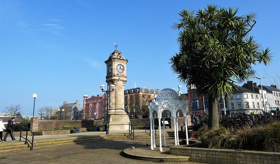 McKee Clock and Sunken Gardens, Bangor.