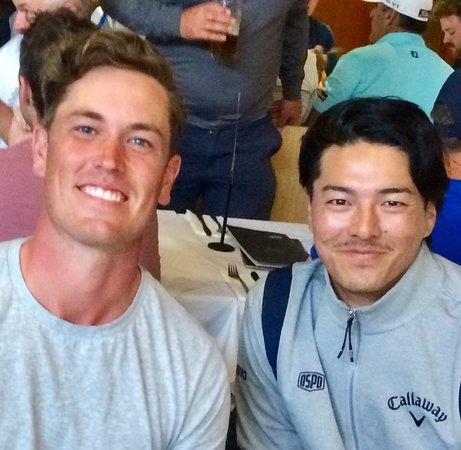 Ryo with Anthony Quayle