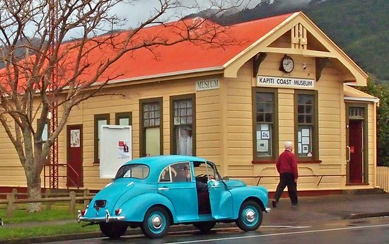 Waikanae, Новая Зеландия: Built in 1907, the Old Post Office, now a Heritage Building, became the Kapiti Coast Museum in 1983, specialising in communications history but also containing many treasures of the Kapiti Coast.