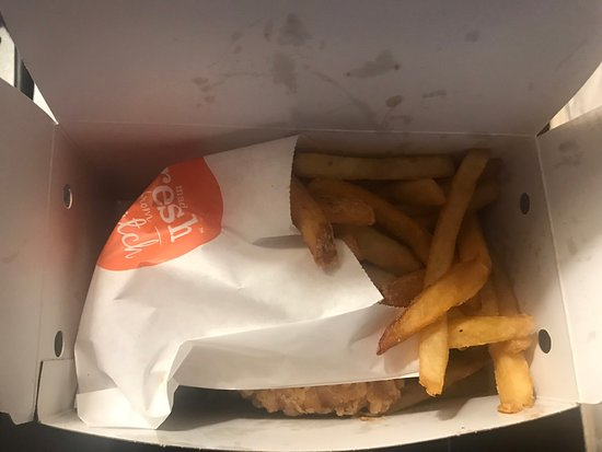 Chicken and Fries
