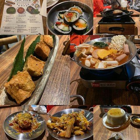 韓式素食食到飽