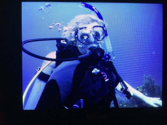 PADI Oplev Scuba Diving i Montego Bay: I took the Discover Scuba, and look at me!