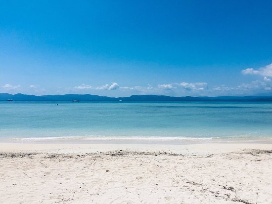 Mauban, Filippijnen: Cagbalete beach. It is cleaner than the other beaches in Luzon e.g. Batangas.