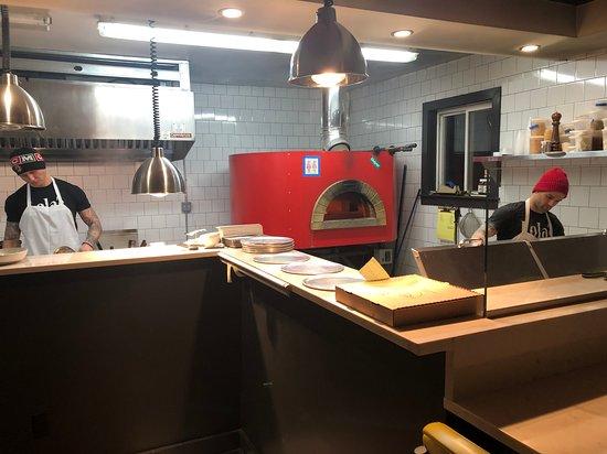 Lolita's Pizza: Kitchen
