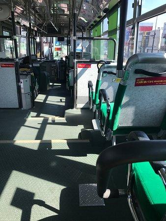 金剛バス車内