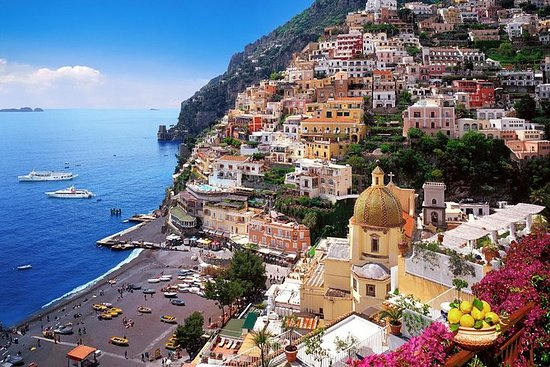 Recorrido por la costa Amalfitana en...