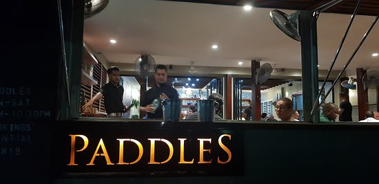 Paddles Restaurant: Paddles' team